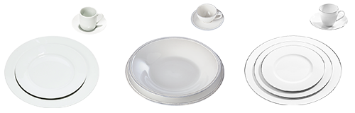 Alquiler : Líneas de platos