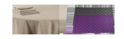 Alquiler : Alquiler de manteles y textiles