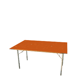 Mesa rectangular 100 x 150 cm.