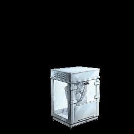 Máquina de palomitas 220 v. + pala para palomitas