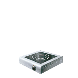 Cocina vitrocerámica 1 placa 220 v.