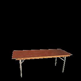 Mesa rectangular 80 x 150 cm.