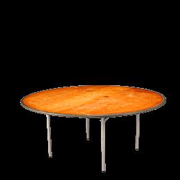 Mesa redonda Ø 185 cm.