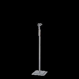 Portanúmero de mesa acero Alt. 31 cm