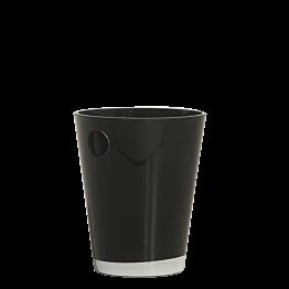 Cubitera negra H 25 cm. Ø 20 cm.