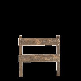 Barrera de madera 100 x 100 cm L 8 cm