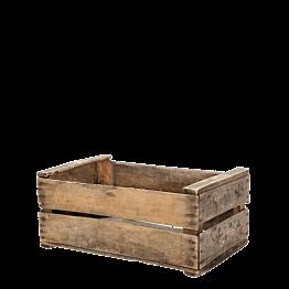 Caja de madera vintage 55 x 24 cm H 35 cm