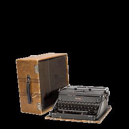 Máquina Vintage de escribir 34 x 15,5 cm H 32,5 cm