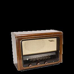 Radio madera retro vintage 52 x 19,5 cm Alt. 38 cm