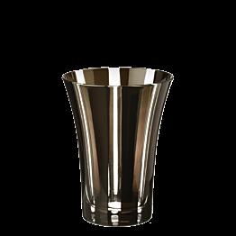 Vaso tulipa negro Ø 8,5 cm Alt. 11 cm 28 cl
