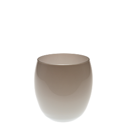 Vaso plateado Ø 9 cm Alt. 9,5 cm 36 cl.