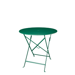 Mesa Trocadero redonda verde  Ø 77 cm