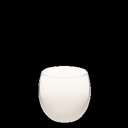 Burbuja escarchada blanca Ø 6.5 cm H 6.5 cm 15 cl