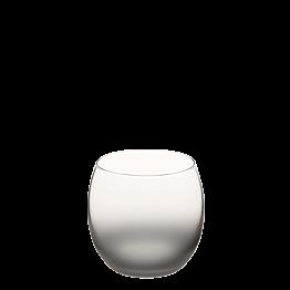 Burbuja escarchada gris ahumado Ø 6.5 cm H 6.5 cm 15 cl