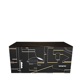 Buffet plegable Art Deco 100 x 200 cm - Plazo 48 h