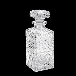 Botella de Whisky Vintage con tapón