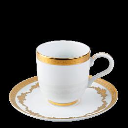 Taza y plato de café Imperial 11 cl