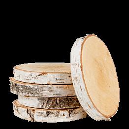 Circulo de madera vintage tamaño mediano