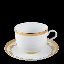 Taza y plato de té Imperial 28 cl