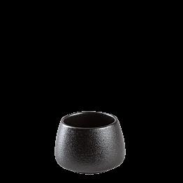 Vaso Tom negro Ø 6,5 cm alt. 4.5 cm 8 cl