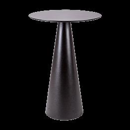 Mesa alta de cóctel Icono negra Ø 69 – Alt. 106 cm