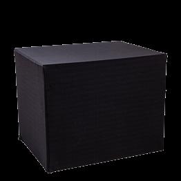 Carro plegable plegable negro 90 x 70 cm – Alt. 72 cm
