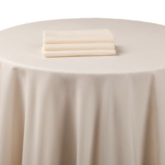 Mantel chintz beige 270 x 500 cm ignífugo M1