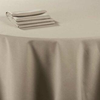 Mantel lino Chaume 240 x 240 cm.