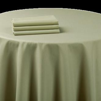 Mantel chintz verde almendra 270 x 800 cm.