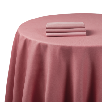 Mantel chintz rosa 270 x 600 cm.