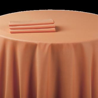 Pasillo de mesa chintz naranja 50 x 270 cm.
