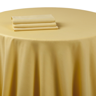 Pasillo de mesa chintz amarillo tornasolado 50 x 270 cm.
