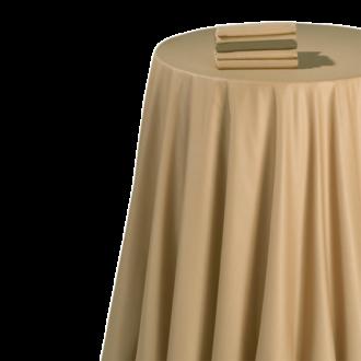 Mantel chintz caramelo 240 x 240 cm.