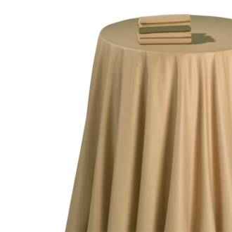 Mantel chintz caramelo 270 x 270 cm.