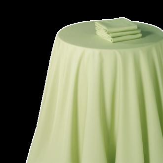 Pasillo de mesa chintz pistacho 50 x 270 cm.