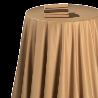 Pasillo de mesa chintz caramelo 50 x 270 cm