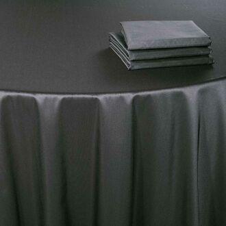 Pasillo de mesa Toscana acero 50 x 270 cm.