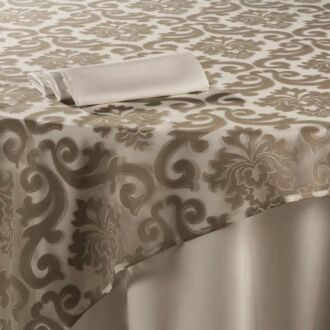 Cubre mantel Sevilla crudo 290 x 500 cm.