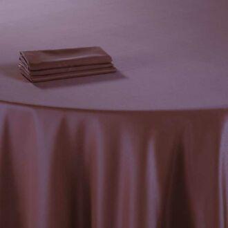 Mantel Delhi ciruela 210 x 210 cm. ignífugo M1