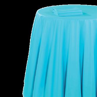 Pasillo de mesa chintz turquesa 50 x 270 cm.