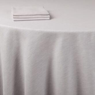 Mantel lino gris 290 x 600 cm.