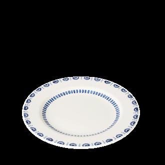 Plato llano Azul Ø 27,5 cm