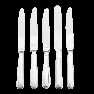 Cuchillo de mesa Vintage plata