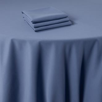 Pasillo de mesa Marjorie azul 50 x 270 cm ignífugo M1