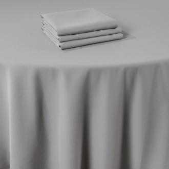 Pasillo de mesa Marjorie gris 50 x 270 cm ignífugo M1