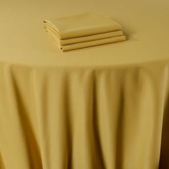 Pasillo de mesa Marjorie amarillo 50 x 270 cm ignífugo M1