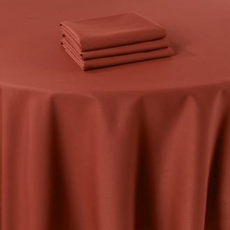 Pasillo de mesa Marjorie terracota 50 x 270 cm ignífugo M1