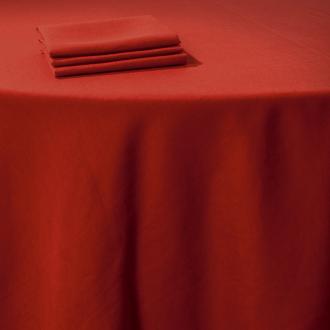 Servilleta de mesa lino rojo 50 x 50 cm