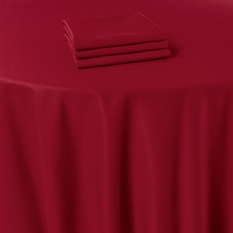 Servilleta de mesa Marjorie rojo 50 x 50 cm
