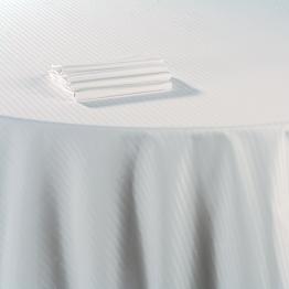 Mantel algodón blanco 210 x 210 cm.